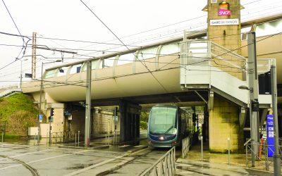 La gare de Cenon : un pôle d'échange plein d'avenir