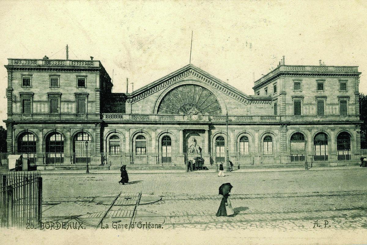 L'ancienne gare de Bordeaux Bastide