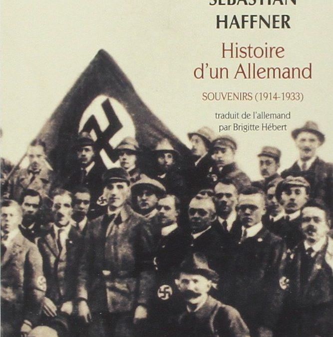 """Bouquinons : """"Histoire d'un allemand"""" et """"Portraits et destins"""""""